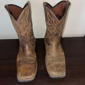 Justin Leather Cowboys Boots 🥾 Size 12D